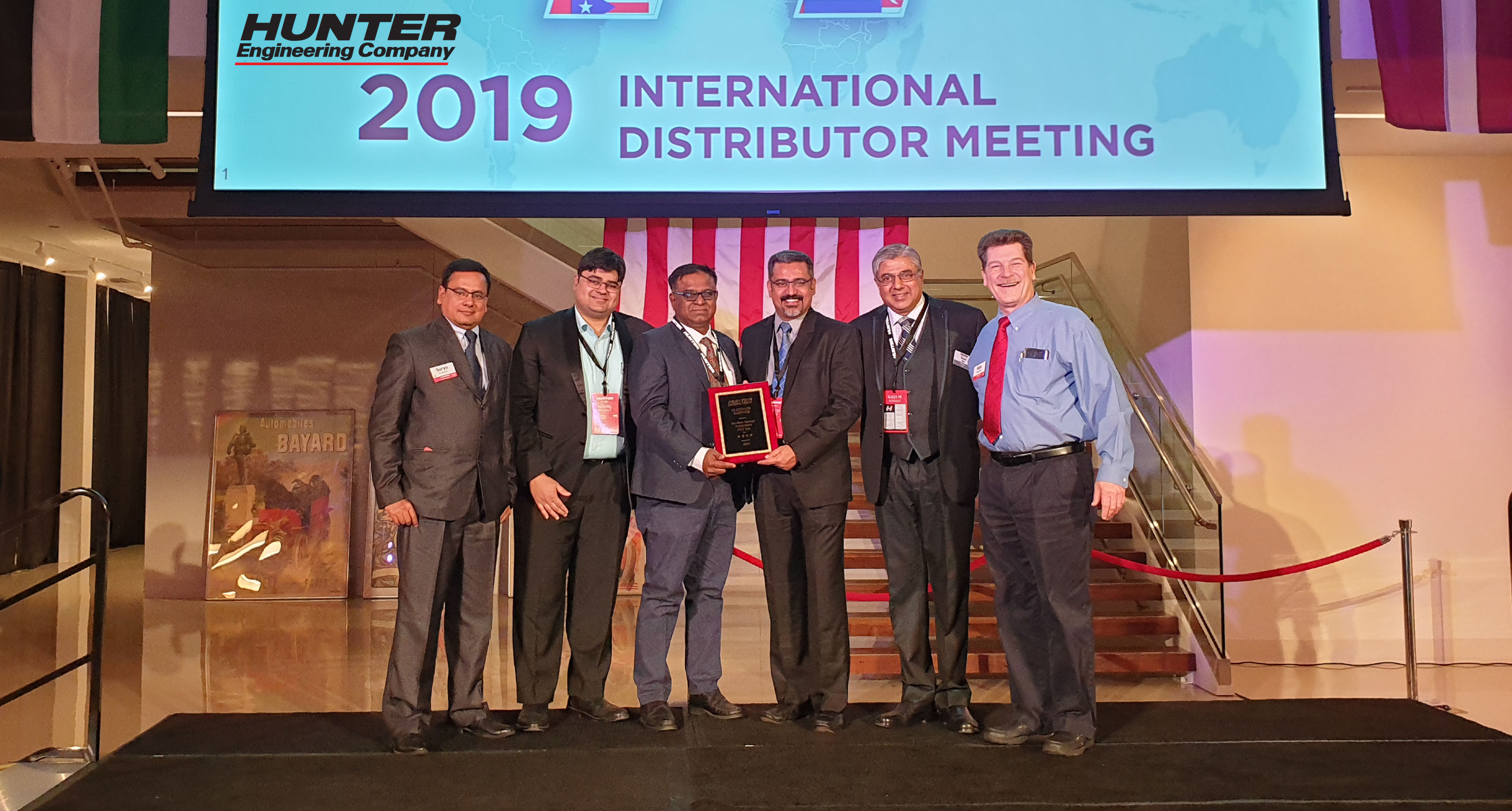 Madhus Garage Equipment - Hunter award 2019