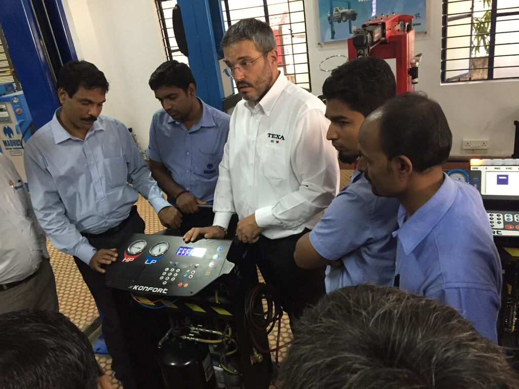 Texa Conducts service training at Madhus in Bangalore